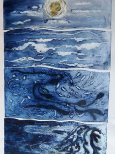 sea-scape-collagraph-print